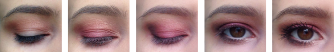 step by step maquillage pourpre monday shadow challenge too face sweet peach.png