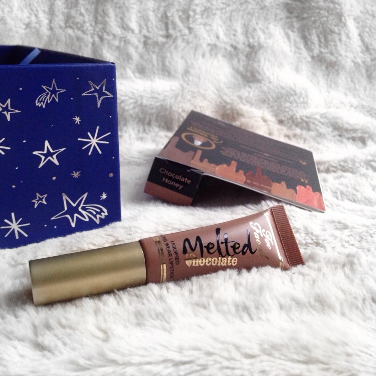 glossybox-decembre-2016-noel-imperial-too-faced-melted-chocolate