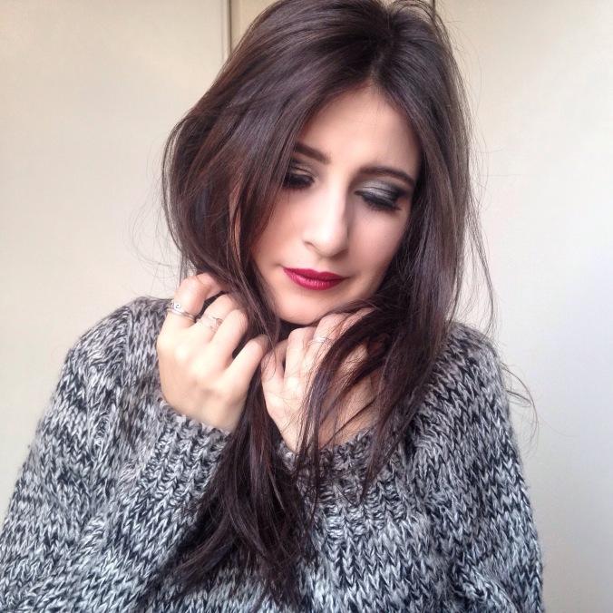 makeup argenté msc smoky eyes (3).JPG