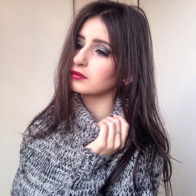 makeup argenté msc smoky eyes (6).JPG