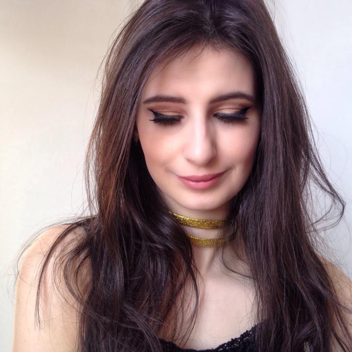 maquillage-dore-fete-claramakeupmode-1