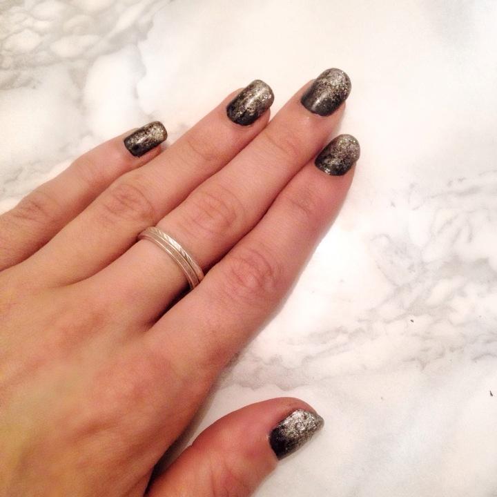 nail art noir et pailleté (4) (4).JPG