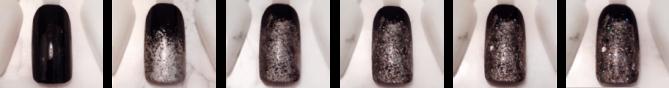 Step by step nail art noir et pailleté vernis.png