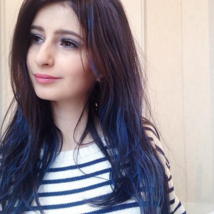 maquillage-bleu-glacier-msc-tilt-et-ploof-de-mac-spray-colorista-loreal-bleu-pastel-6