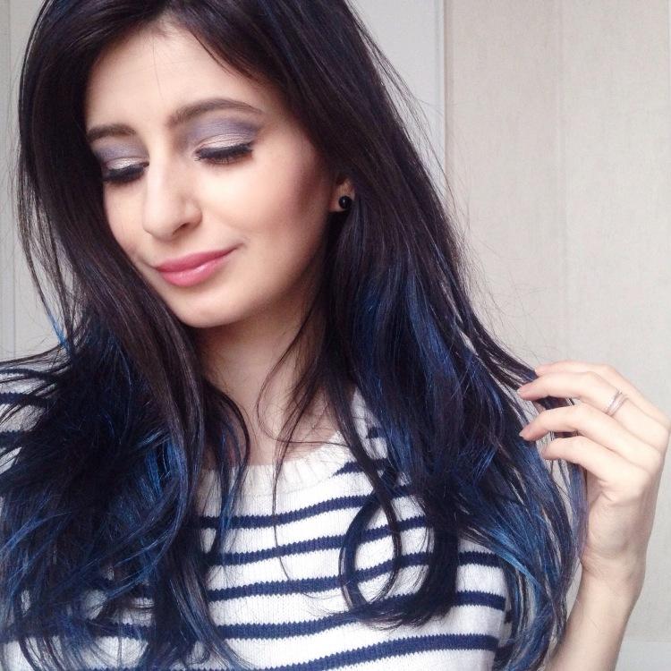 maquillage-bleu-glacier-msc-tilt-et-ploof-de-mac-spray-colorista-loreal-bleu-pastel-7