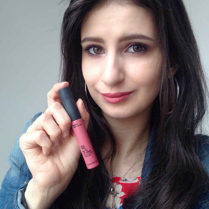 Matte Lip Liquid, The Body Shop teinte 034.JPG