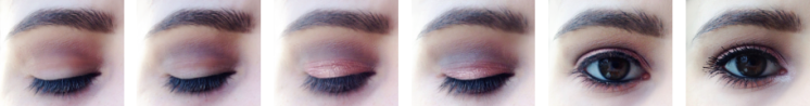 Tutoriel Maquillage MSC Rose Gold Urban Decay The Body Shop Too Faced.png