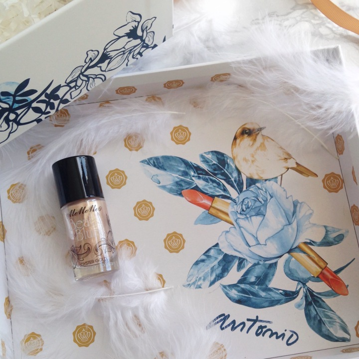 Glossybox Mars 2017 Secret Garden Highlighter MeMeMe.JPG