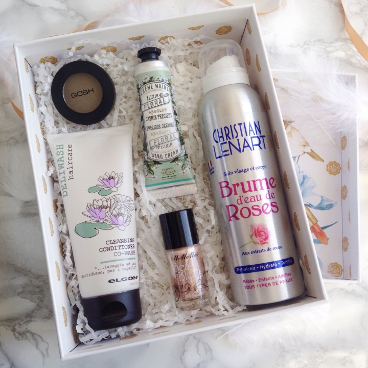 Glossybox Mars 2017 Secret Garden Selection produit