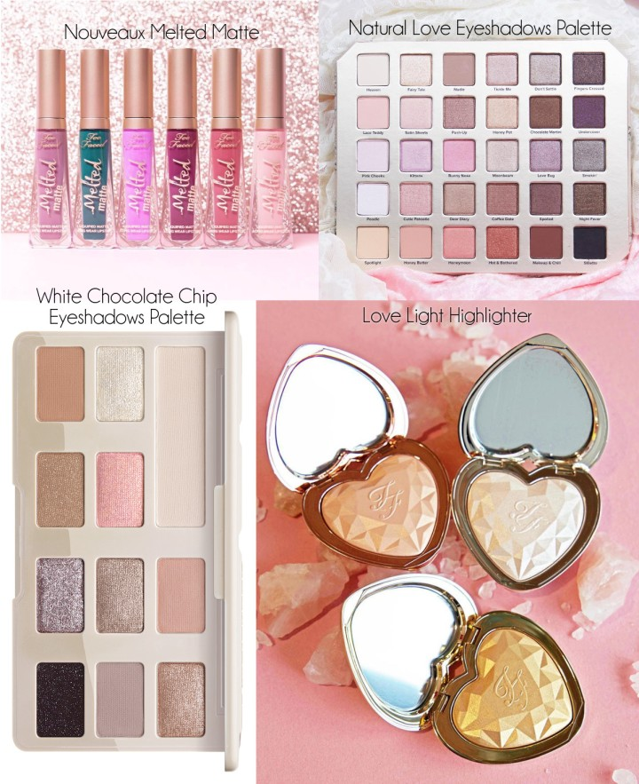 TOO FACED Natural Love & Chocolate Chip Eyeshadows Palette New Melted Matte Shades Love Light Highlighter.jpg