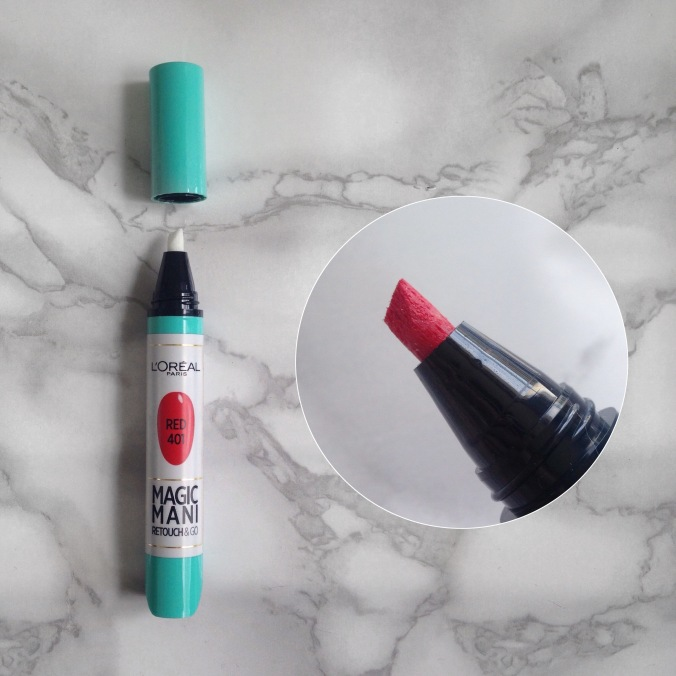 Mani Marker de L'Oréal Paris (401 Red) (12).JPG