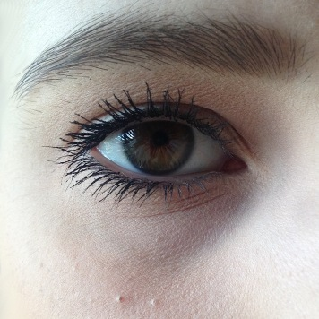 Mascara Faux Cils X-Fiber de L'Oréal - Après