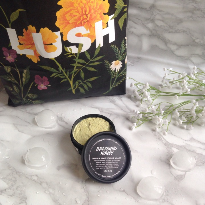Masque frais Brazened Honey de LUSH (1)