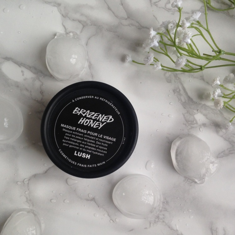 Masque frais Brazened Honey de LUSH (2)