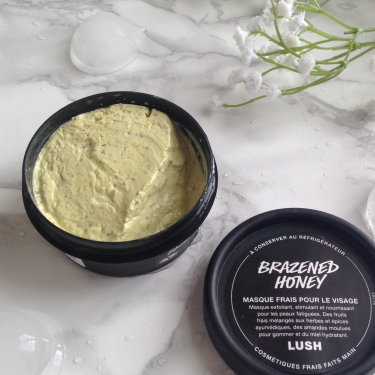 Masque frais Brazened Honey de LUSH (5)