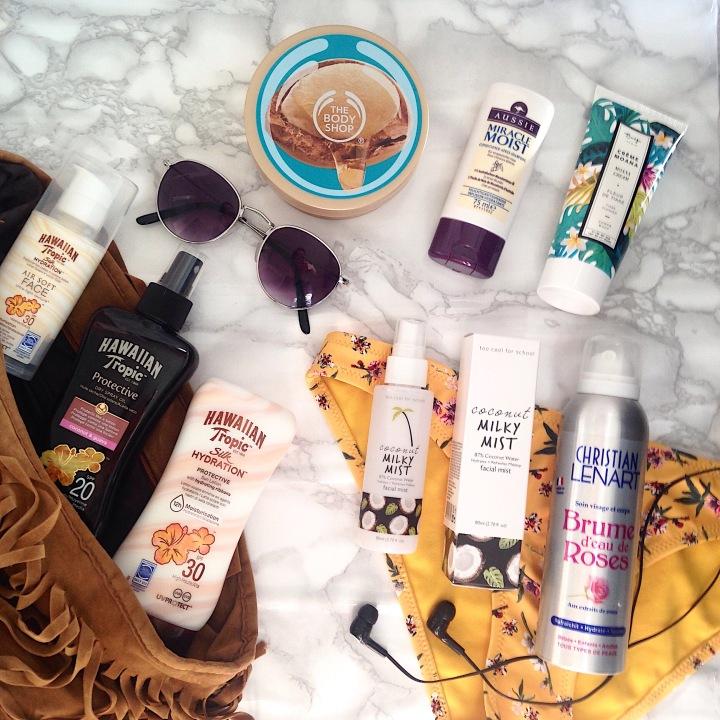 Essentiels de l'été, sélection de produits (1)