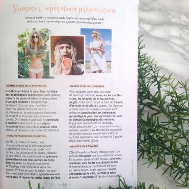 Glossybox Fruity Juin 2017 Magazine (3)