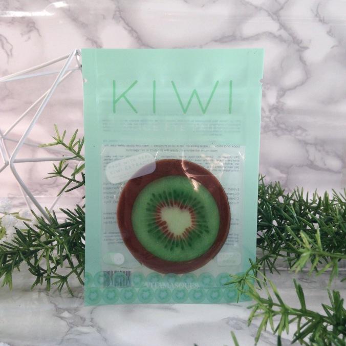 Glossybox Fruity Juin 2017 Masque yeux kiwi Vitamasques