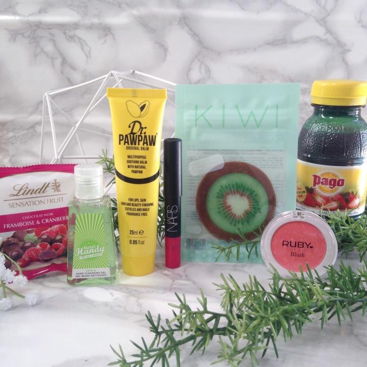 Glossybox Fruity Juin 2017 Sélection de produit (3)