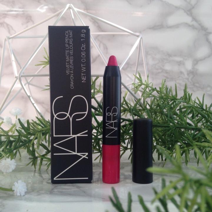 Glossybox Fruity Juin 2017 Velvet Matte Lip Pencil NARS