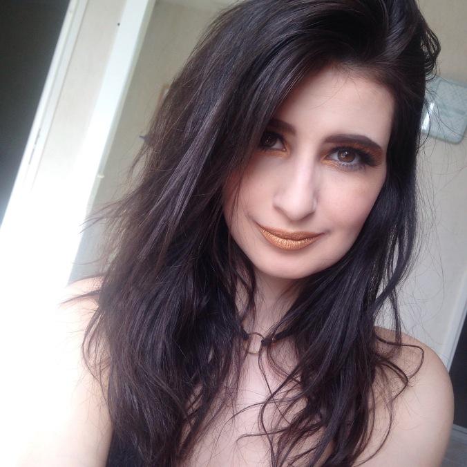 Maquillage Monday Shadow Challenge Anthracite et Or (Naked 2, Afterdark) (1).jpg