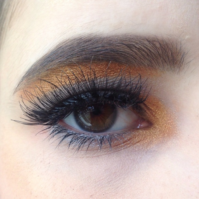 Maquillage Monday Shadow Challenge Anthracite et Or (Naked 2, Afterdark) zoom (1)
