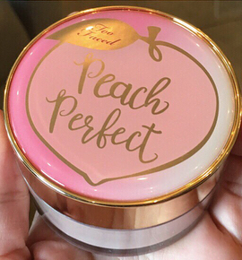 Peach Perfect Setting Powder, Too Faced 2