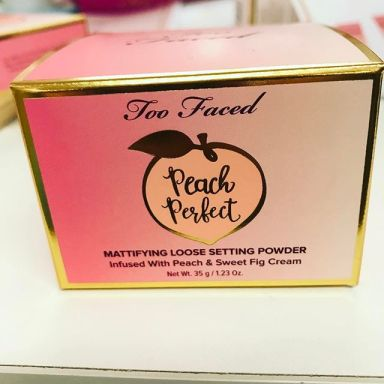 Peach Perfect Setting Powder, Too Faced