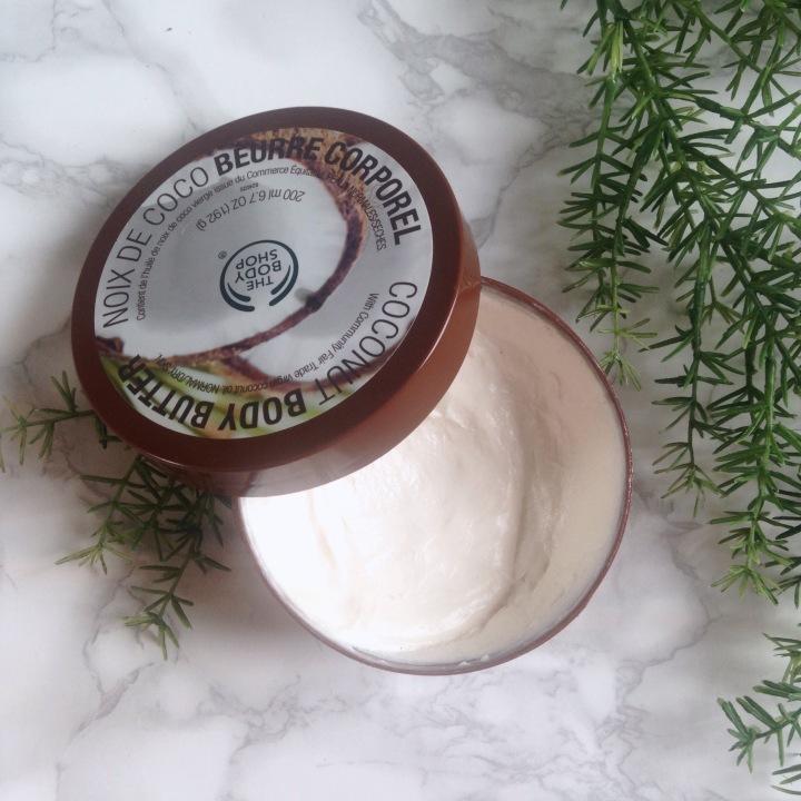 Beurre corporel de The Body Shop Noix de coco.jpg