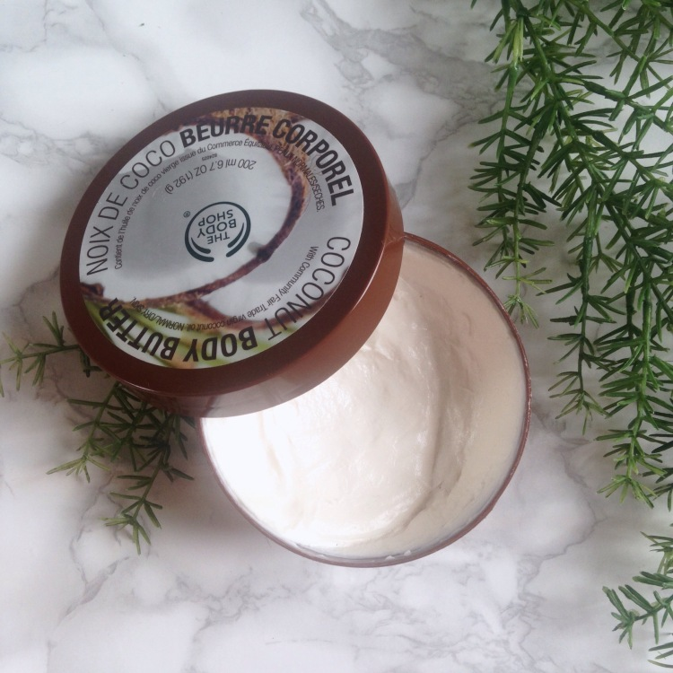 Beurre corporel de The Body Shop Noix de coco.jpg