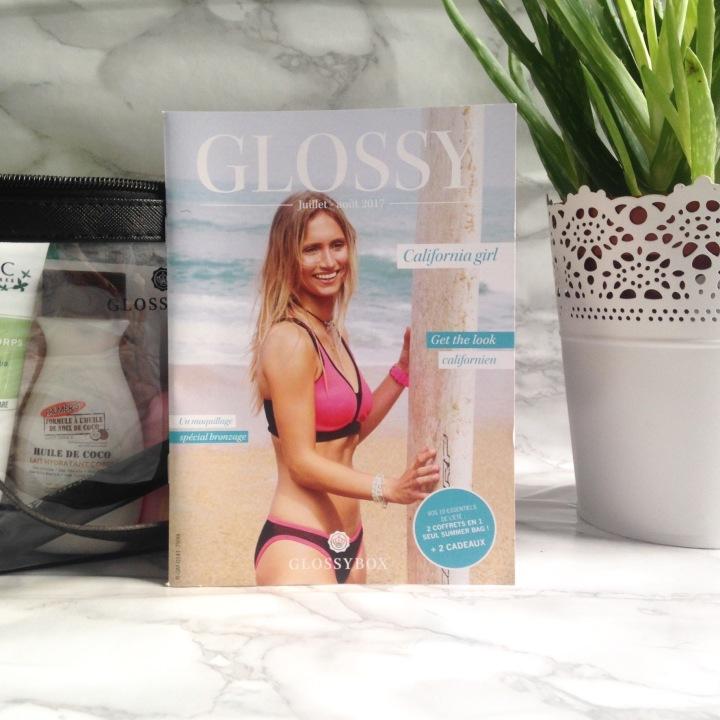 Glossybox Summer Edition juillet + août 2017 magazine (1)