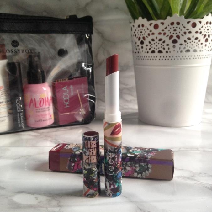 Glossybox Summer Edition juillet + août 2017 Rouge à lèvres mat Teeez