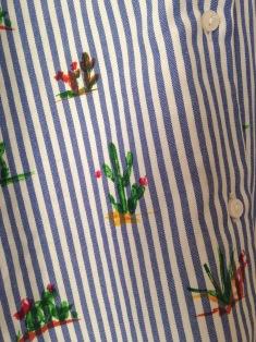 Chemise ample XS rayée motif cactus 9,99€ (2)