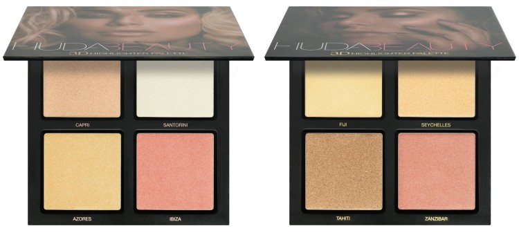 3D Highlighter Palette - Huda Beauty