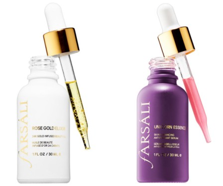 FARSÀLI - Rose Gold Elixir et Unicorn Essence