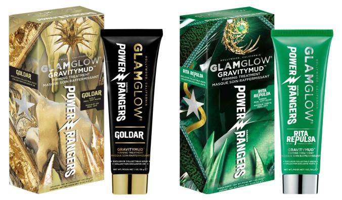 GLAMGLOW - Gravitymud x Power Rangers Gold + Green.jpg