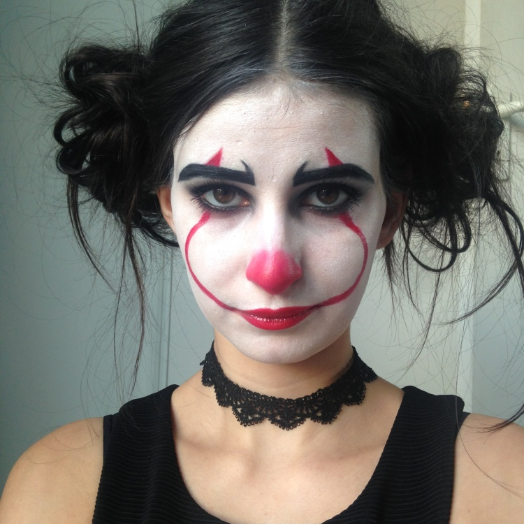 Makeup Halloween It Clown Inspiration (7)