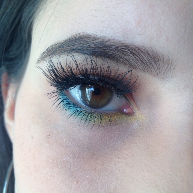 MAQUILLAGE MSC - Teal & Moutarde (1)