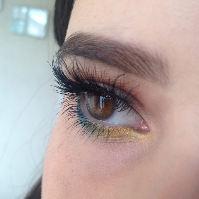 MAQUILLAGE MSC - Teal & Moutarde (2)