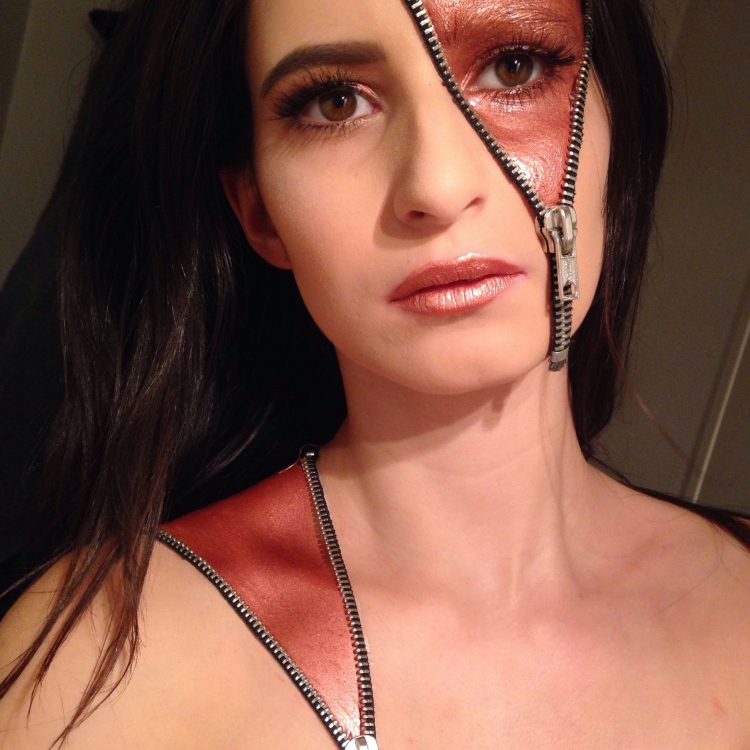 Halloween Zipper Makeup (3)
