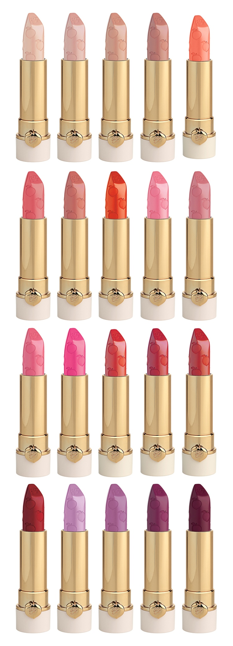 Too Faced Peach Kiss Lipstick Full Shades.jpg