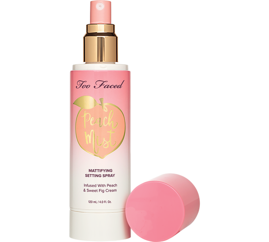 Too Faced Peach Mist Mattifying Setting Spray.png