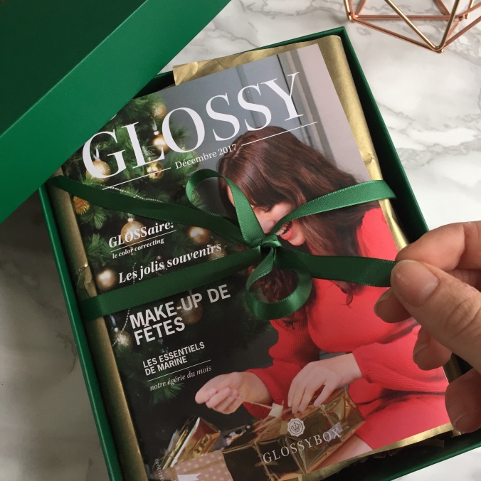 Glossybox Décembre 2017 Christmas Stars (3).JPG