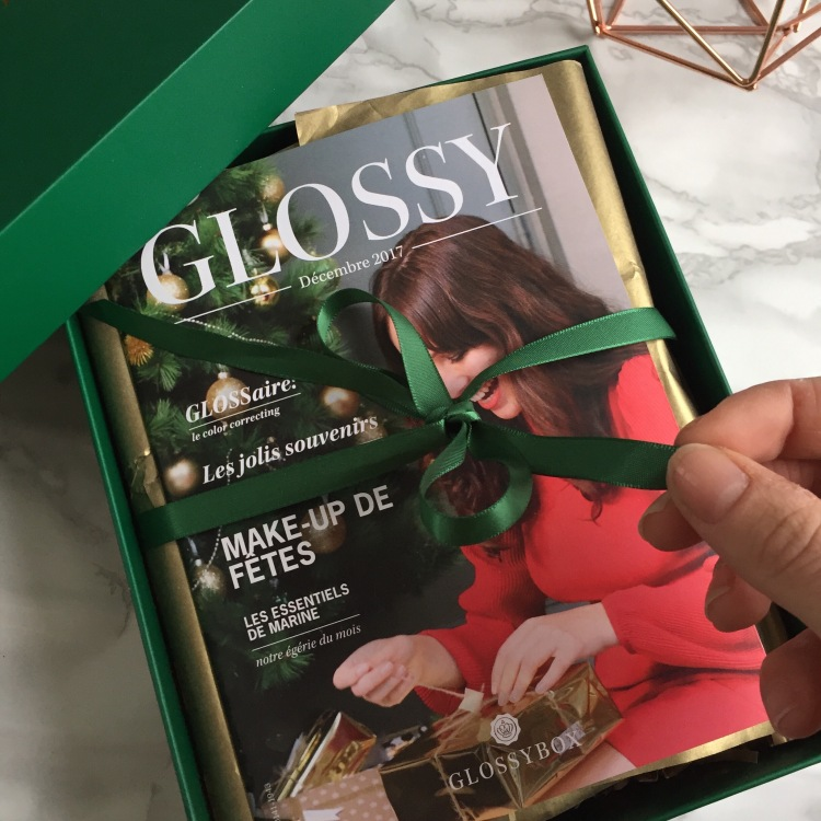 Glossybox Décembre 2017 Christmas Stars (3).JPG