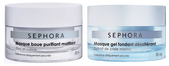 masque boue purifiant matifiant et masque gel fondant desalterant sephora.jpg