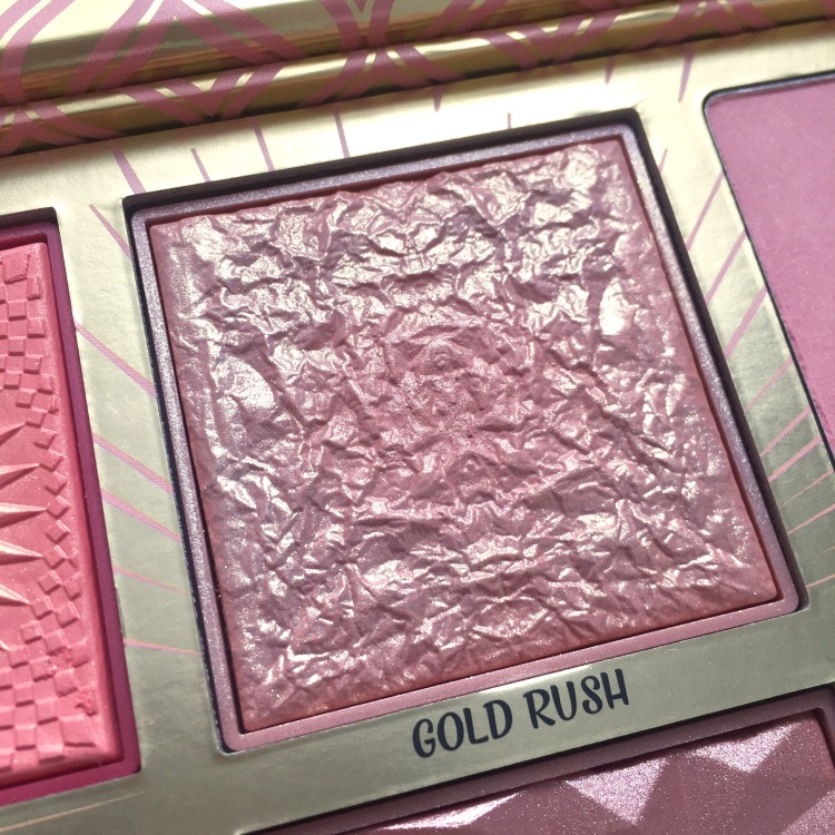 Palette Blush Bar de Benefit Gold Rush.JPG