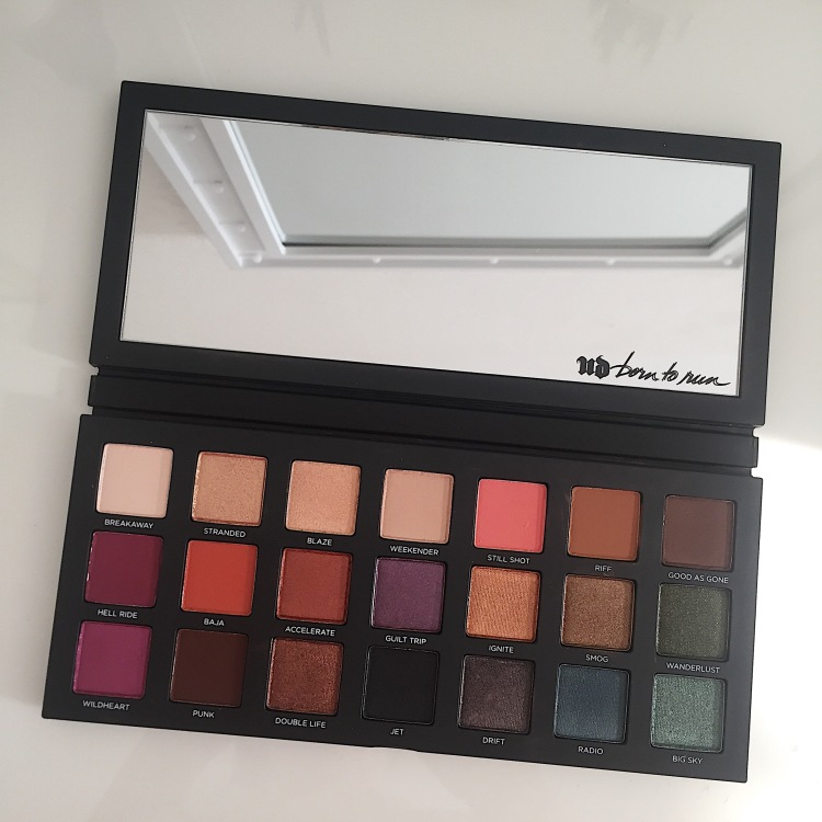 Palette Born to Run d'Urban Decay (12)