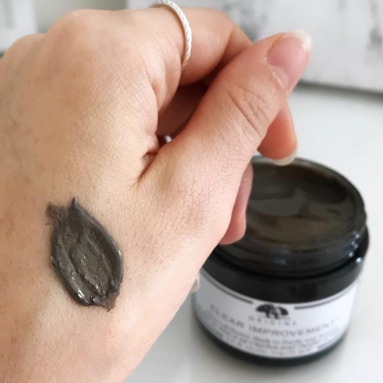 masque purifiant et nourrissant au miel et charbon d'origins