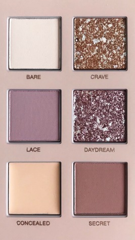 The New Nude Palette d'Huda Beauty (6)