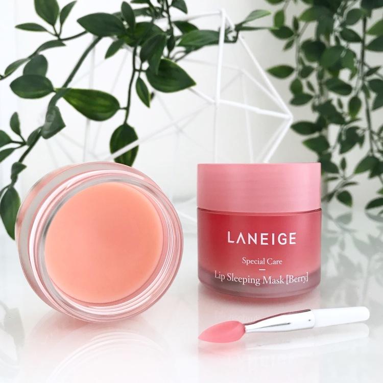 Masque de nuit pour les lèvres (Fruits rouges + Pamplemouse) LA NEIGE (4)